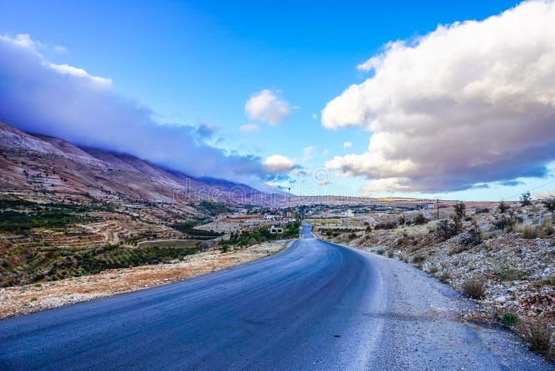 Liban gór Bekaa dolina 01 obraz royalty free