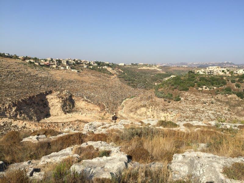 Libanesische Landschaft stockfotografie