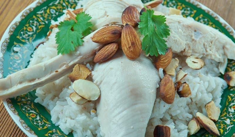 Download Libanesisches Huhn stockbild. Bild von kochen, glück - 90233935