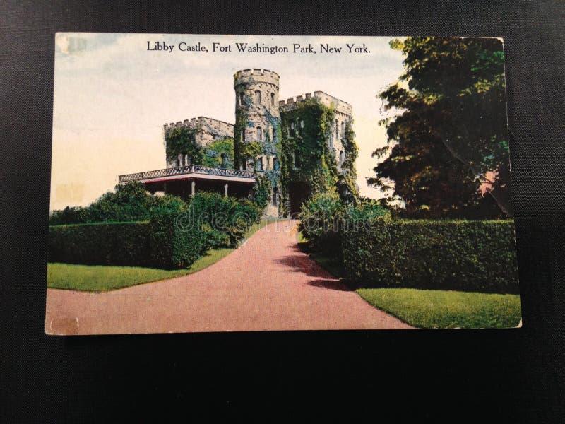 Libby Castle stockbild