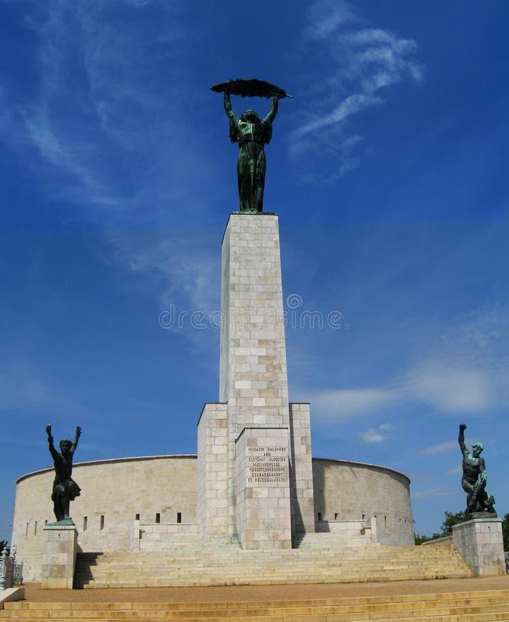 Liberation statue royalty free stock photos