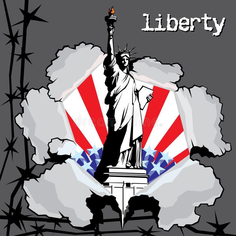 Liberdade ilustração do vetor