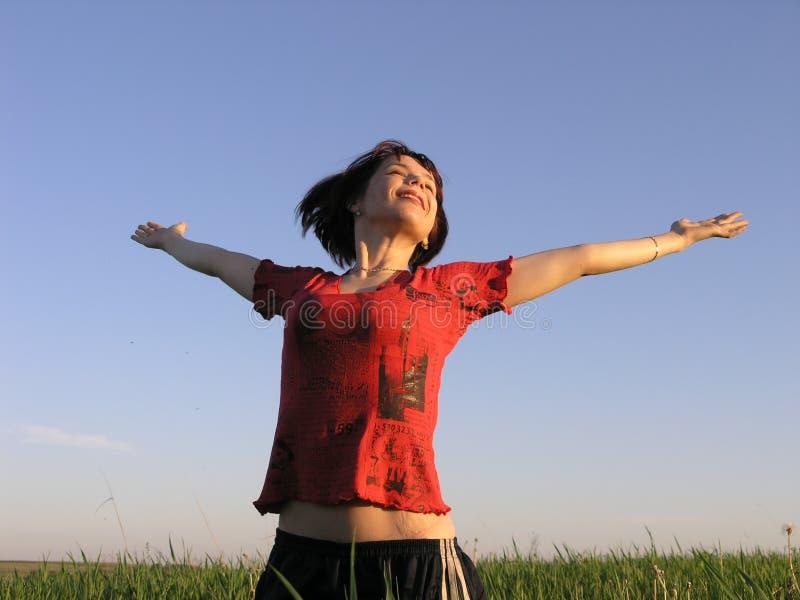 Liberdade! foto de stock