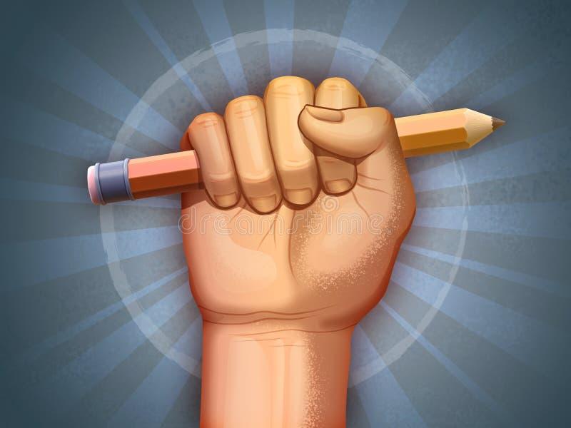 Liberdade de pensamento ilustração do vetor