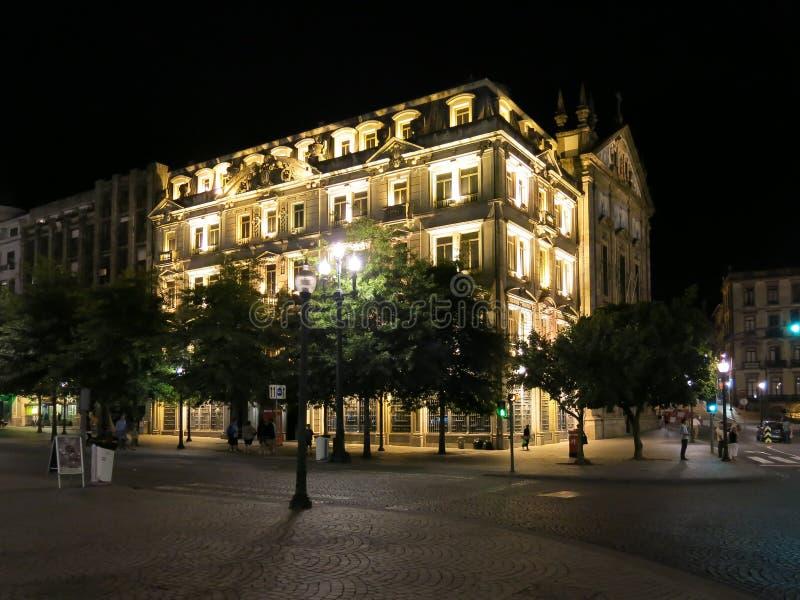 Liberdade kwadrat, Porto obrazy stock