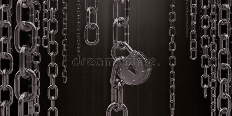 Liberdade ou escravidão foto de stock