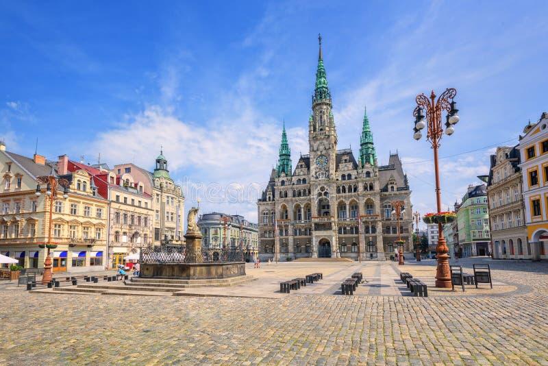Liberec, République Tchèque photographie stock libre de droits