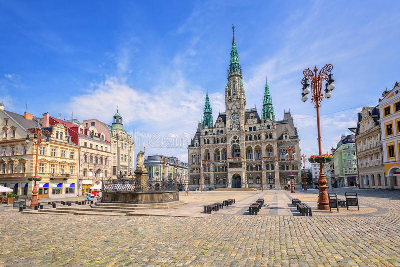 Liberec, Tschechische Republik lizenzfreie stockfotografie