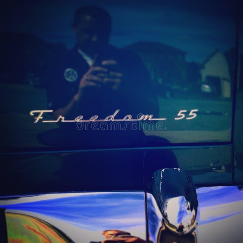 Liberté 55 Chevrolet Bel Air photos libres de droits