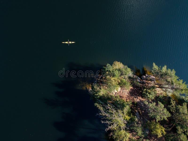 Liberté dans un bateau photographie stock libre de droits