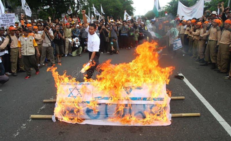 Liberté de la Palestine de soutien photo libre de droits