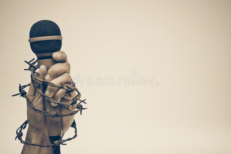 Liberté de la presse photographie stock libre de droits