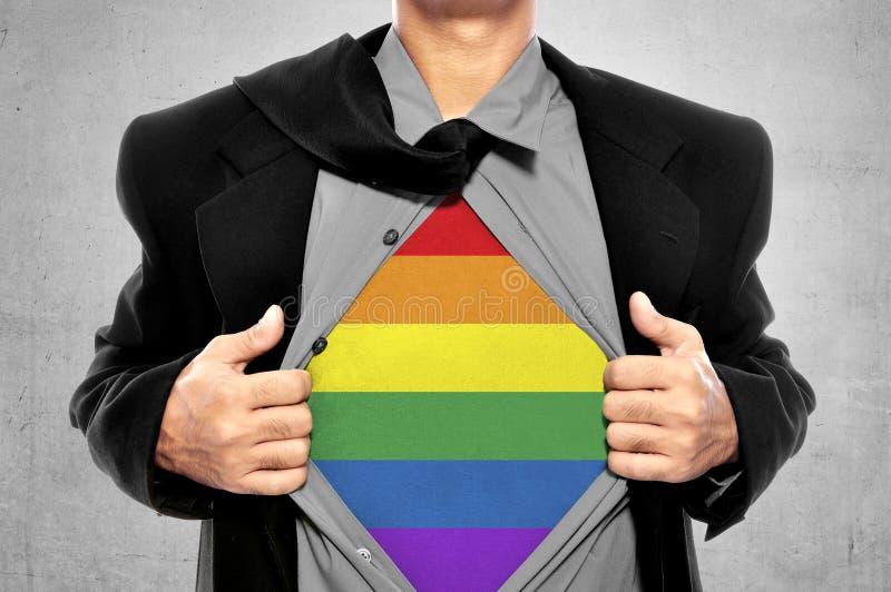 Liberté de LGBT conceptuelle image libre de droits