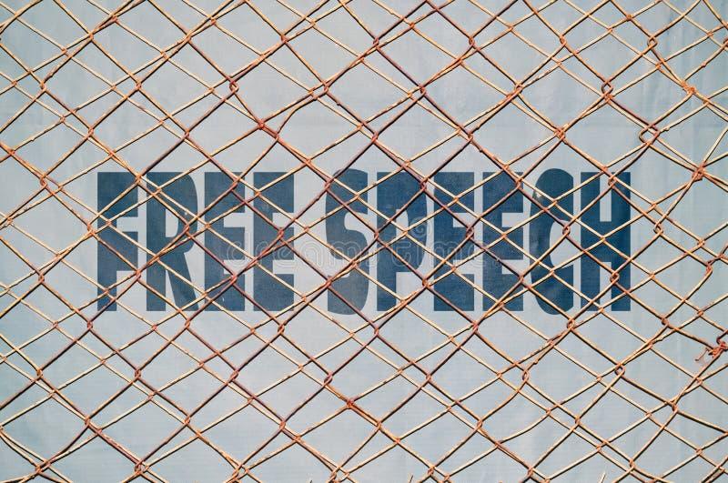 Liberté de parole photo libre de droits