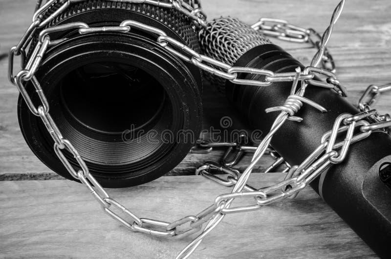 Liberté de presse photo stock
