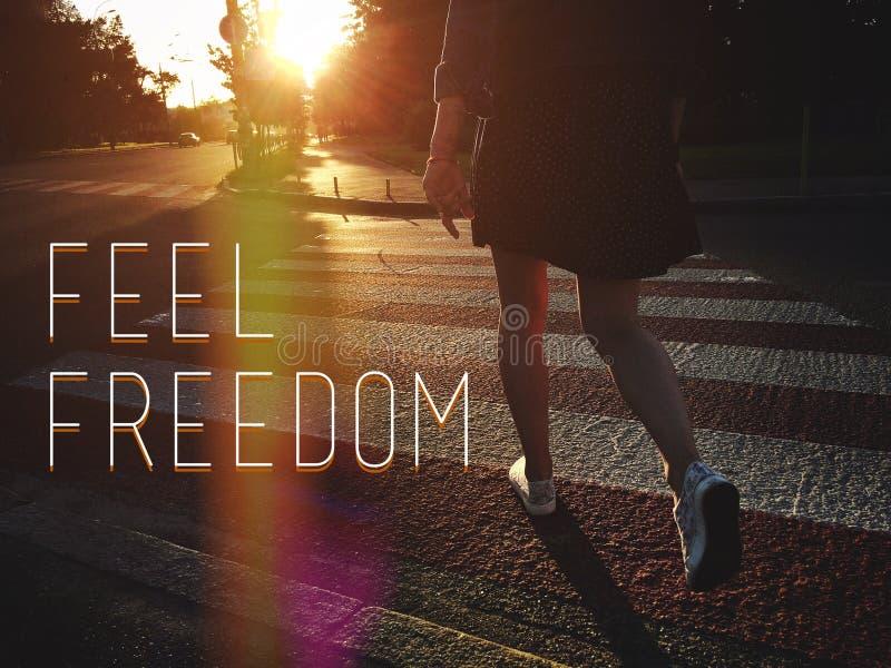Liberté de sensation photos libres de droits