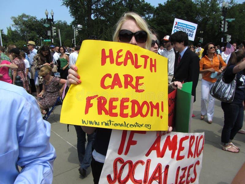 Liberté de soins de santé image libre de droits