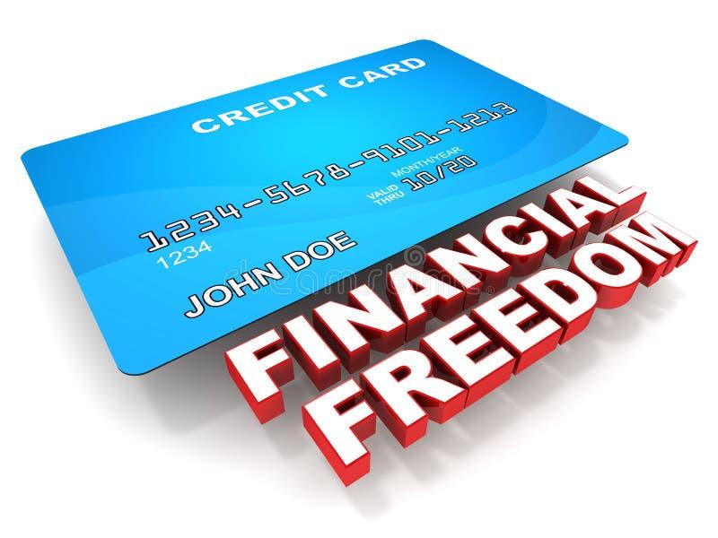 Liberté financière illustration de vecteur