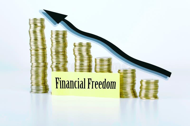 Liberté financière photographie stock