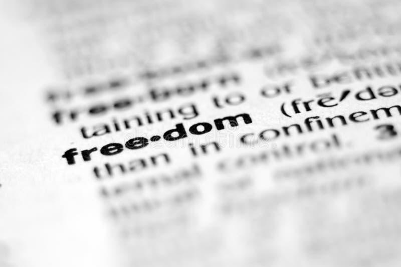 Libertad fotografía de archivo