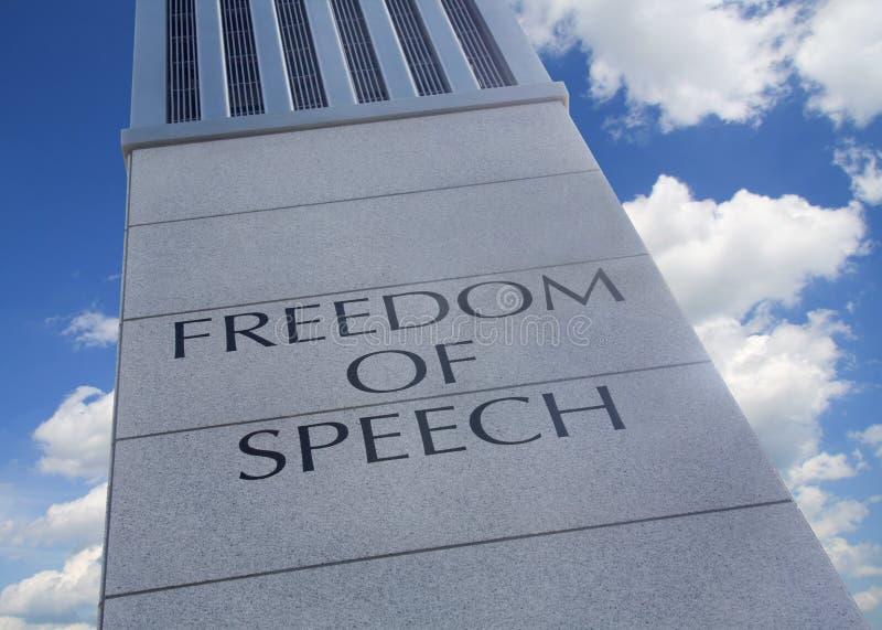 Libertad de expresión fotos de archivo