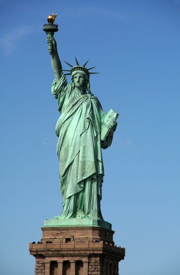 Libertad Stuate - Nueva York fotografía de archivo