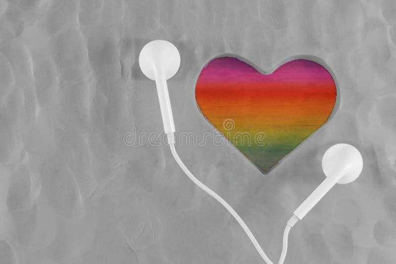 Libertad y las derechas para el concepto gay y homosexual Auricular Lis fotos de archivo libres de regalías