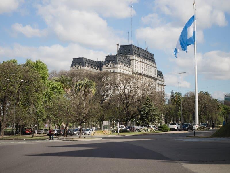 Libertador Building stock images