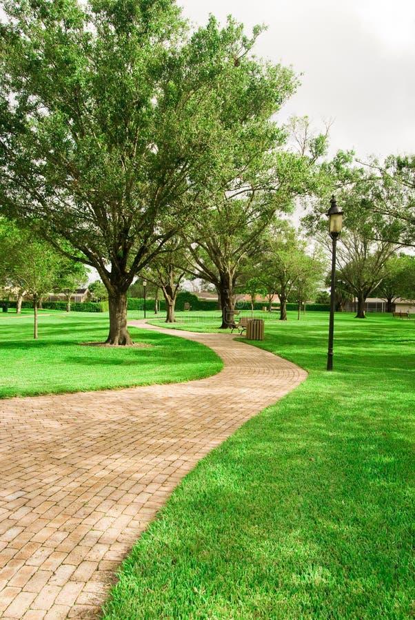 liberty ścieżki dawno park plantaion obraz royalty free