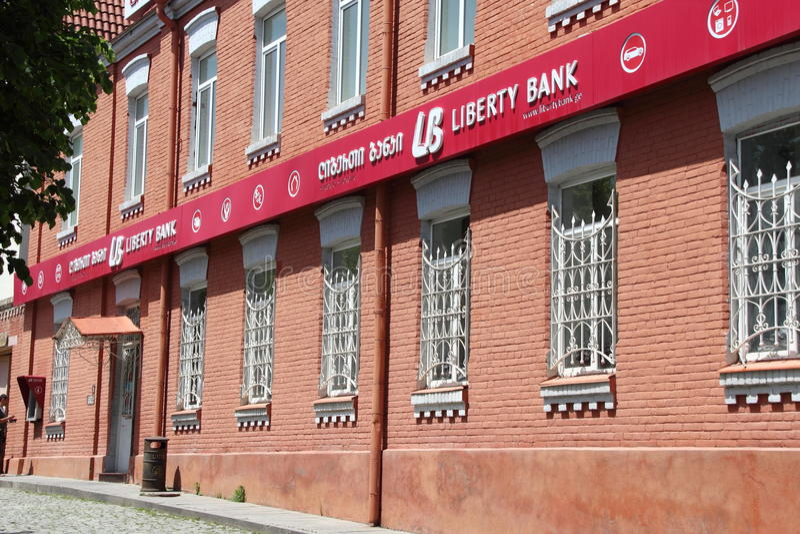 Liberty Bank royalty free stock images