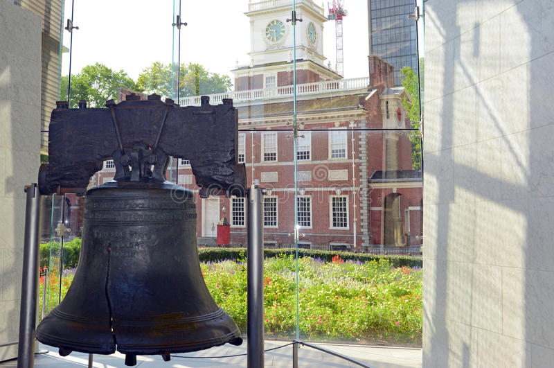 Liberty Bell à Philadelphie, Pennsylvanie photographie stock
