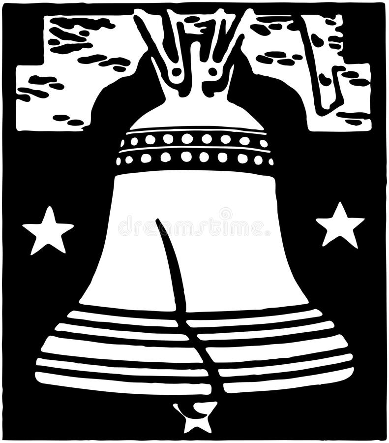 Liberty Bell 2 stock illustrationer