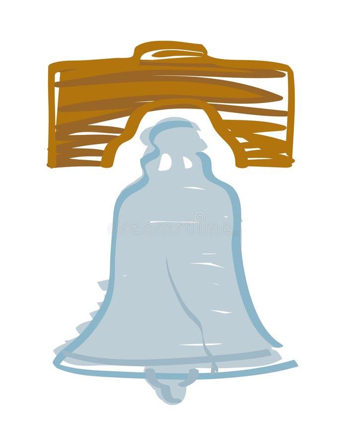 Liberty Bell vektor abbildung