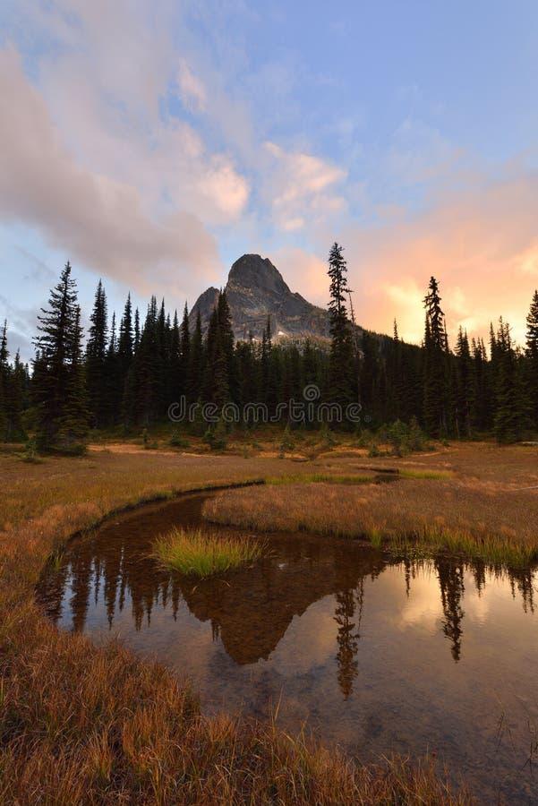 Liberty Bell et kangourou Ridge Sunset images stock