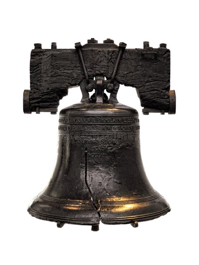 Liberty Bell na independência Salão em Philadelphfia foto de stock