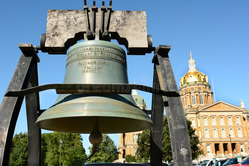 Liberty Bell Replica image libre de droits