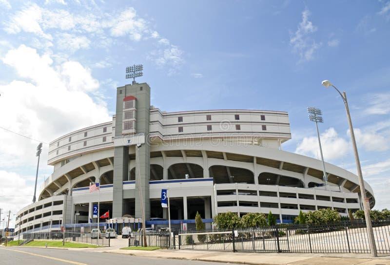 Liberty Bowl Memorial Stadium, Memphis Tennessee imagenes de archivo