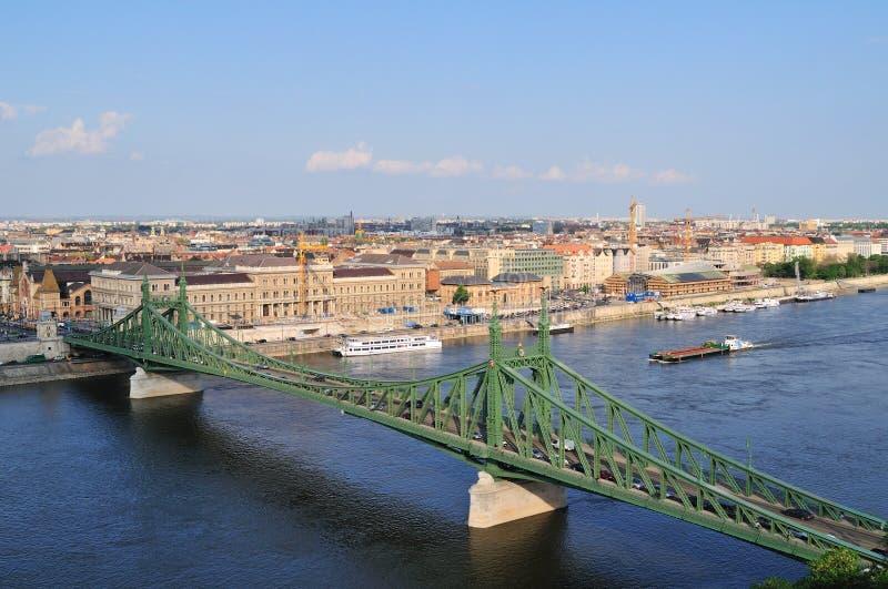Download Liberty bridge stock image. Image of building, cityscape - 14069749