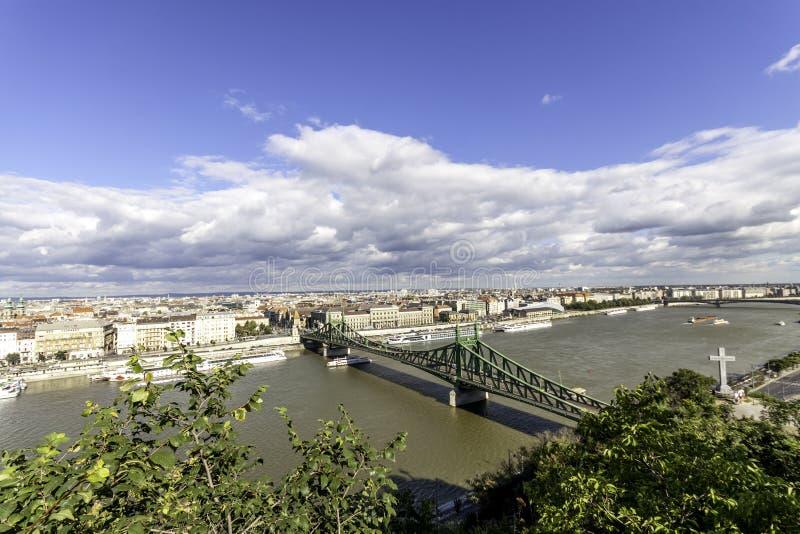 Liberty Bridge photographie stock