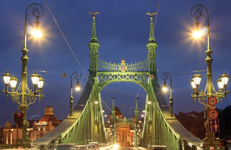 Liberty Bridge fotografia stock