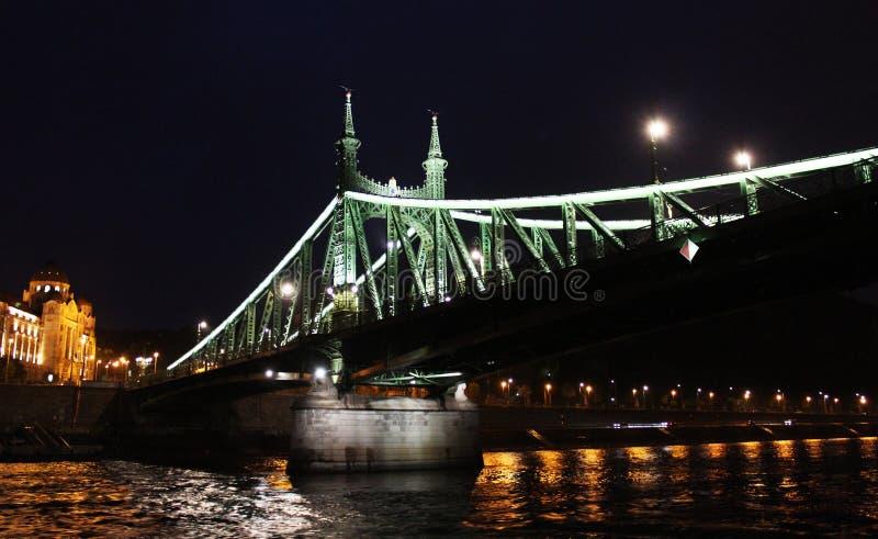 Liberty Bridge lizenzfreies stockbild