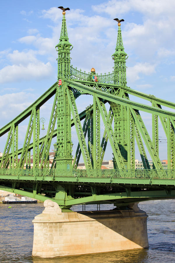 Download Liberty Bridge in Hungary stock image. Image of heritage - 26520279