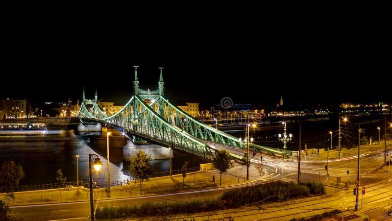 Liberty bridge stock photo