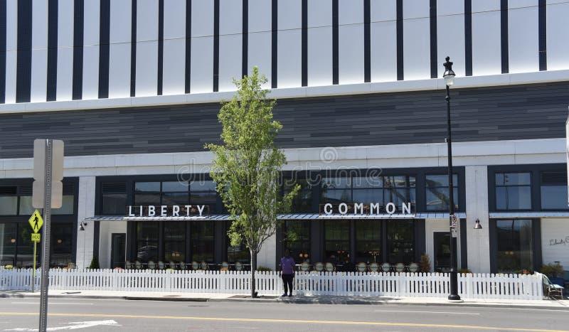 Liberty Commons Cafe y barra, Nashville, TN imagen de archivo