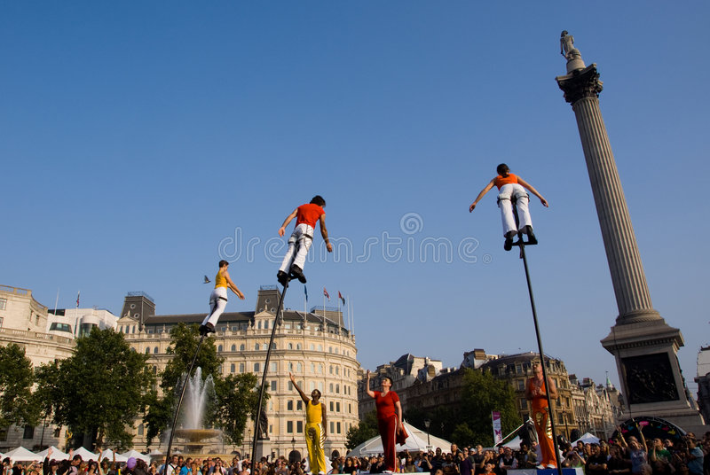 Liberty Festival stock photo