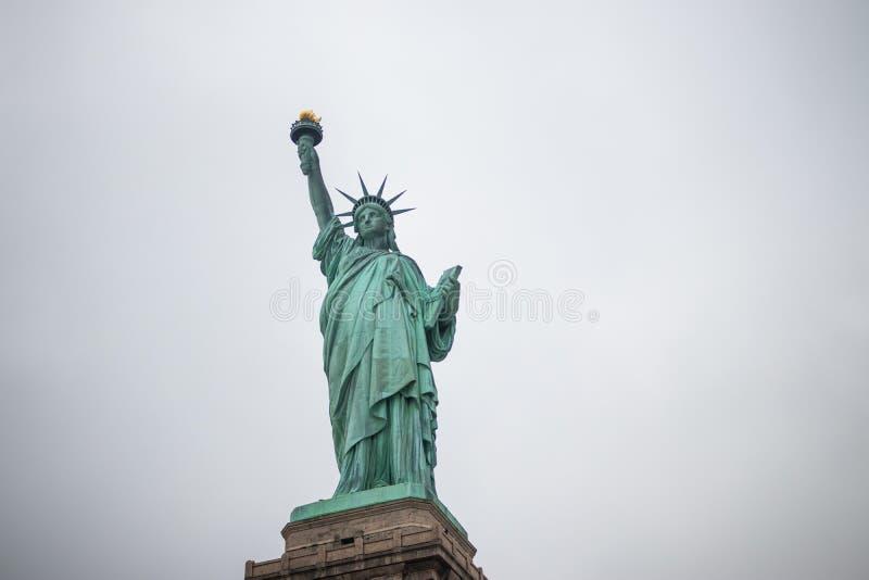 Liberty Island lizenzfreie stockbilder