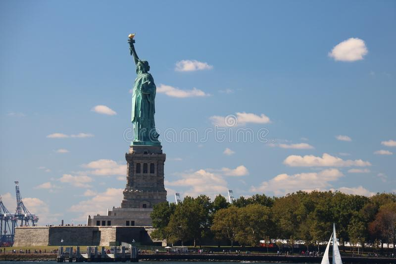 Liberty Statue New York City, Manhattan royalty free stock image