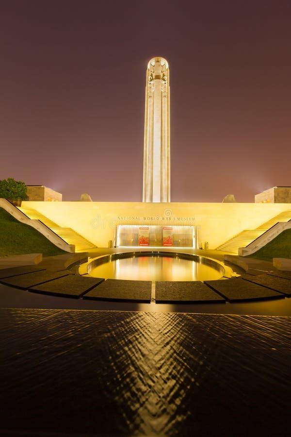 Liberty Memorial el 24 de julio de 2015 fotografía de archivo
