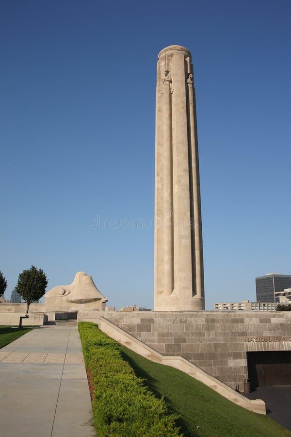 Liberty Memorial - Kansas City royalty free stock photo