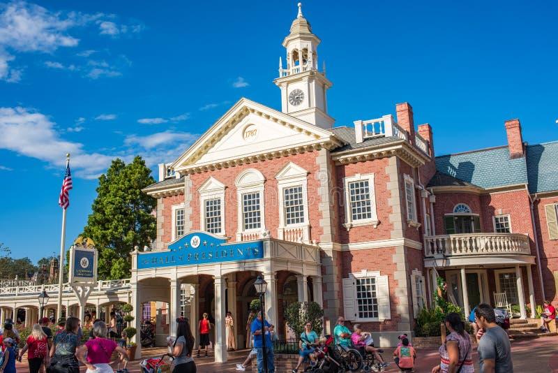 Liberty Square am magischen Königreich lizenzfreies stockbild